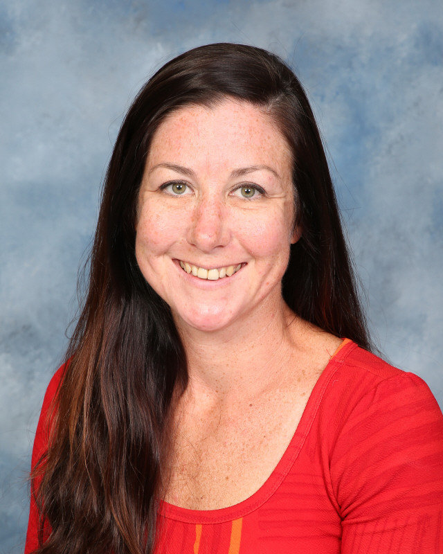 Mrs. Smoller smiles for her yearbook photo.