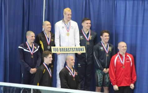 Kallaur sets new personal best in breaststroke, finishes 8th in WPIAL
