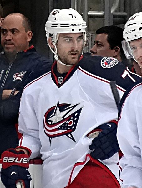 Columbus Blue Jackets forward Nick Foligno during a game against the Pittsburgh Penguins, November 1, 2013, at Consol Energy Center in Pittsburgh, PA.