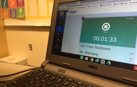 e-Hallpass from a student's view