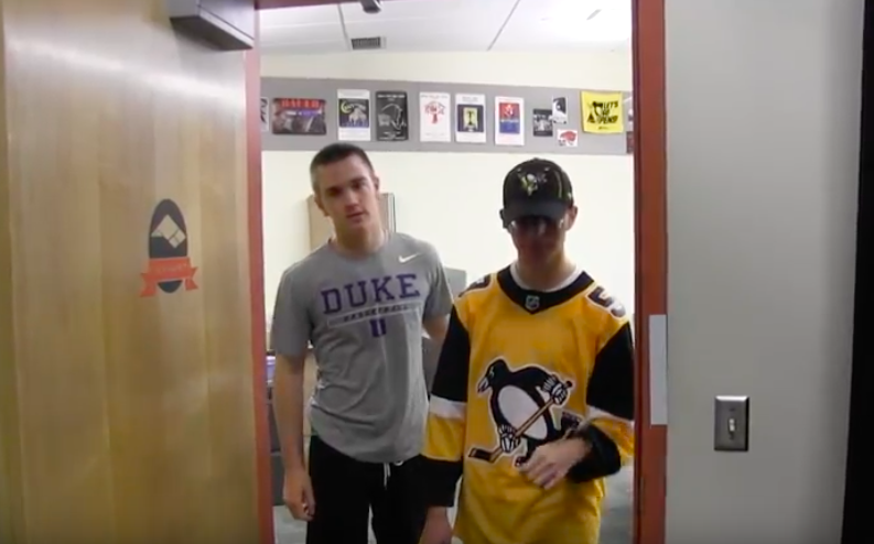 Ryan Meis and Tyler Schultz plod into the TV studio to discuss the Pens disappointing playoff run.