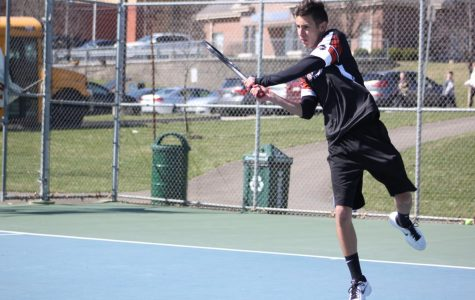 Slideshow: Varsity boys tennis vs. by Peters Township (4/1)