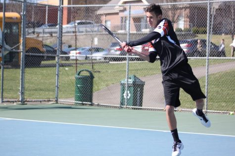 Slideshow: Varsity tennis vs. TJ (3/13)
