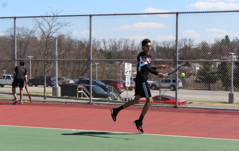 Slideshow: Boys varsity tennis vs. West Allegheny (4/3)