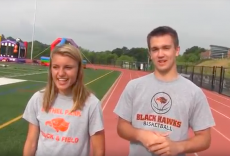 Ryan Meis interviews Emily Carter who won a gold medal and broke the state record in the 3200 m run at the PIAA Track & Field Championships.
