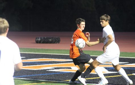 Slideshow:  Boys varsity soccer vs. Lebo (9/10)