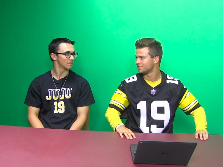 Matt+Szymanowski+and+Parker+Loera+make+their+picks+for+Week+1+of+the+NFL+season.