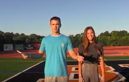 "Ryan Meis walks 103 yards on the football field with Riley Evans for this episode of ""4 Floors."""