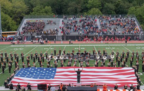 Slideshow: Marching band performs for different crowds