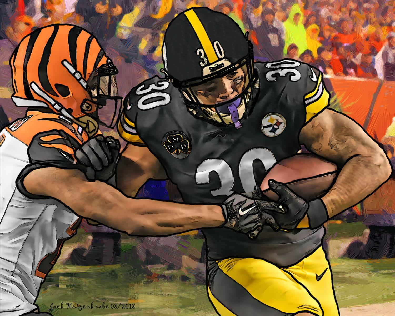 Pittsburgh Steelers James Conner - Cincinnati Bengals