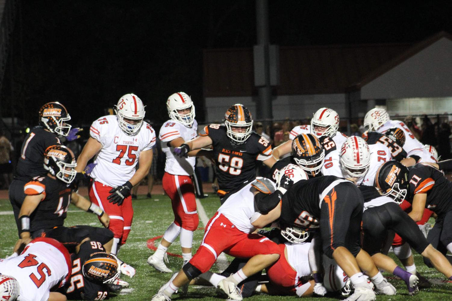 The Hawks tangle up with the Tigers on Friday, Sept. 27.