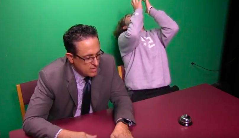"""Video: """"Name That Tune"""" S2E3 Students vs. Teachers"""