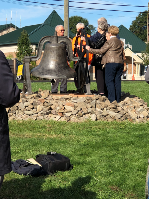 Iconic school bell finds new home