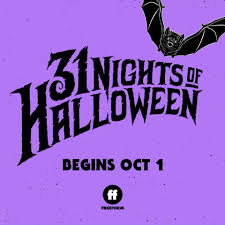 The 31 Nights of Halloween advertisement