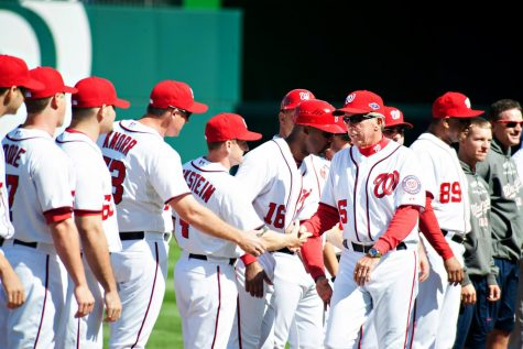 Nationals take game one