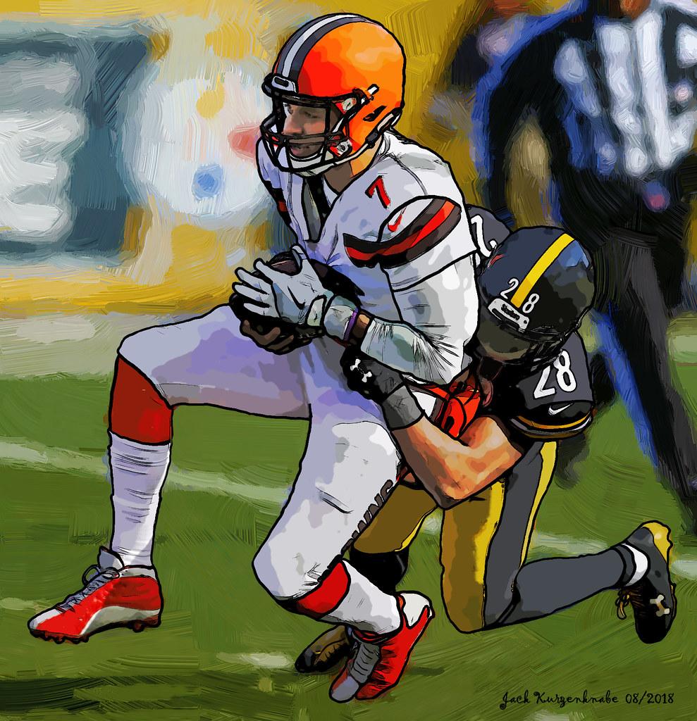 Cleveland Browns DeShone Kizer - Pittsburgh Steelers Sean Davis
