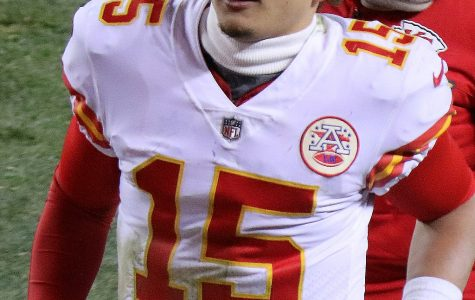 Chiefs quarterback Patrick Mahomes II takes the field during a game against the Denver Broncos on Dec. 31, 2017. The Chiefs won the game 27-24.