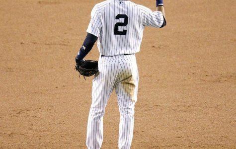 Derek Jeter says goodbye to baseball