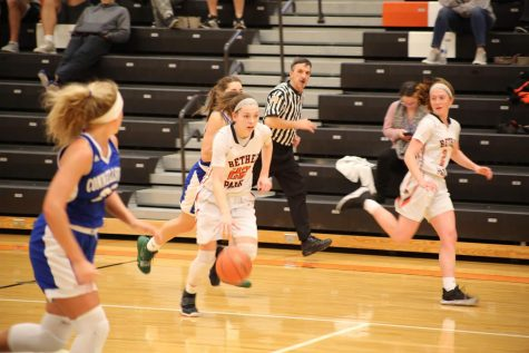 Girls basketball gets back on track