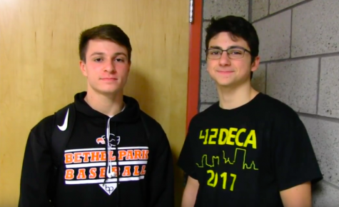 Nick Kopy and Nick Massari talk about their Valentine