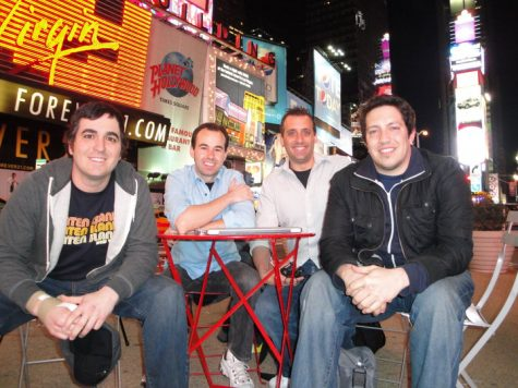 The Impractical Jokers From left to right: Brian Quinn, James Murray, Joe Gatto, and Sal Vulcano.
