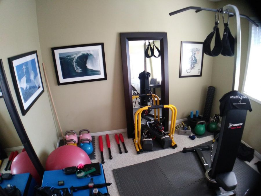 Ultimate Home Gym for all your fitness needs.