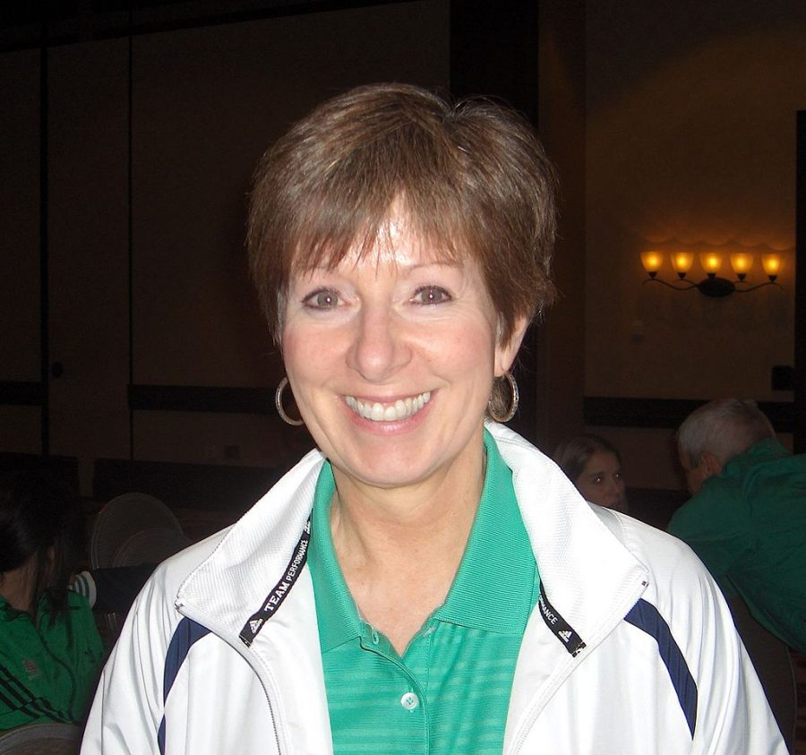 Photo+of+Muffet+McGraw+taken+at+the+2011+Womens+basketball+Coaches+Association+Convention+in+Indianapolis%2C+Indiana.