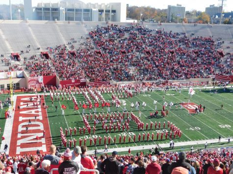 Memorial Stadium in Bloomington, Indiana