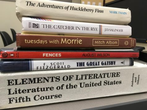 Students encounter several novels in their junior year, including The Adventures of Huckleberry Finn, The Catcher in the Rye and The Great Gatsby, to name a few.