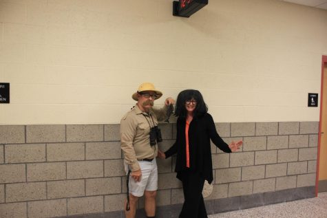 Mr. Wallisch and Ms. Durco participate in last year
