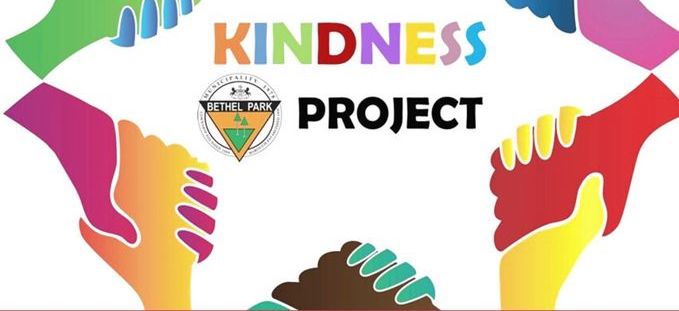 Recognize acts of kindness throughout the Bethel Park community.