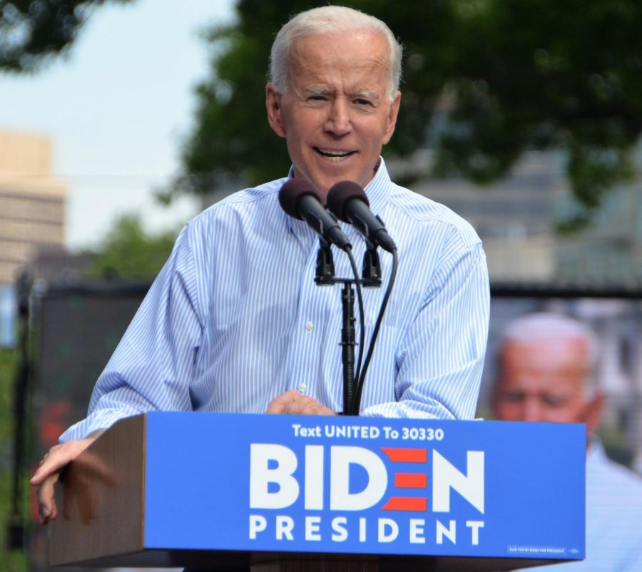 Former Vice President Joe Biden's kickoff rally for his 2020 Presidential campaign on May 18, 2019.