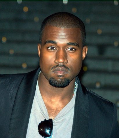 Kanye West at the Vanity Fair kickoff part for the 2009 Tribeca Film Festival. Photographer