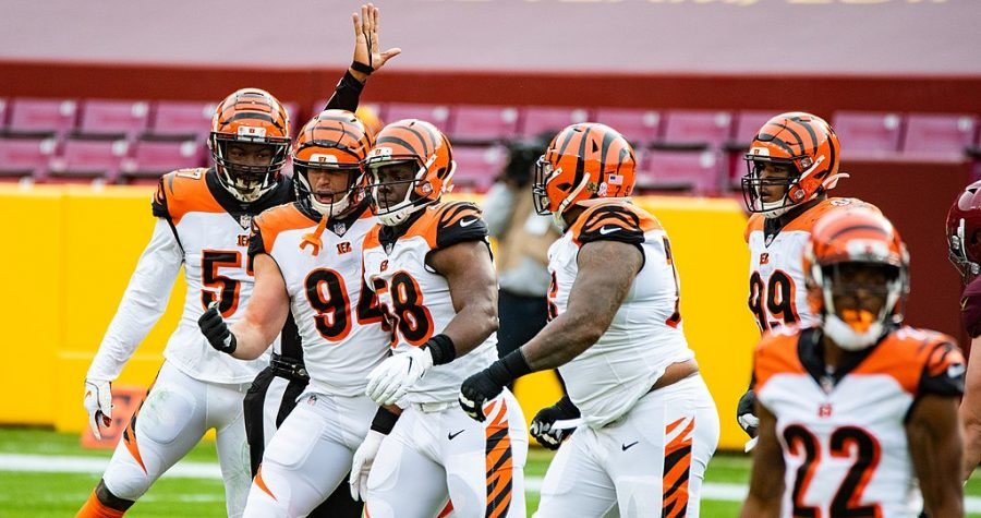 Washington Football Team vs Cincinnati Bengals on Nov. 22.