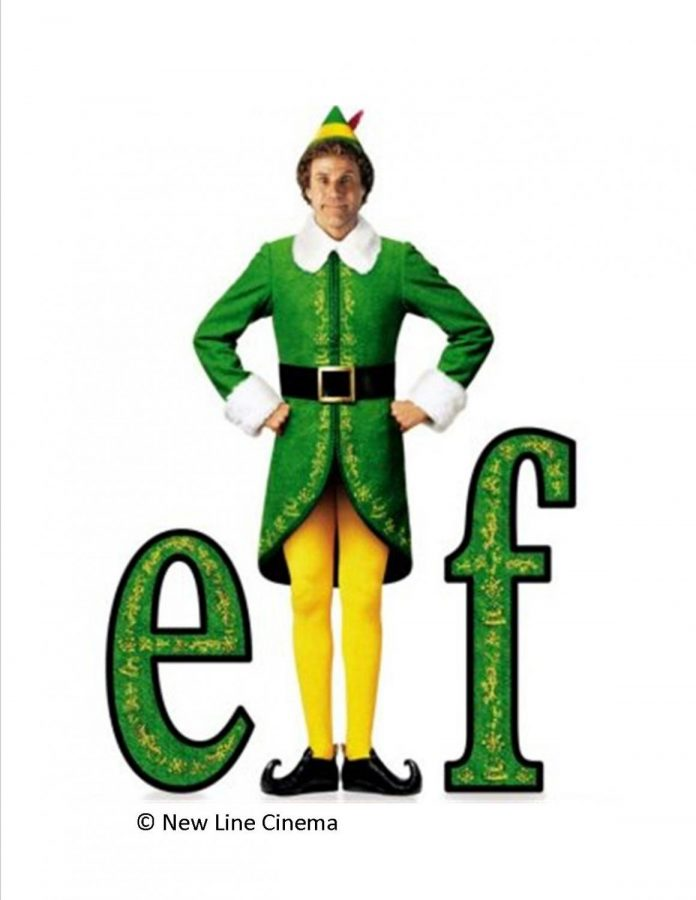 Elf+starring+Will+Ferrell+has+become+a+much-loved+Christmas+movie.