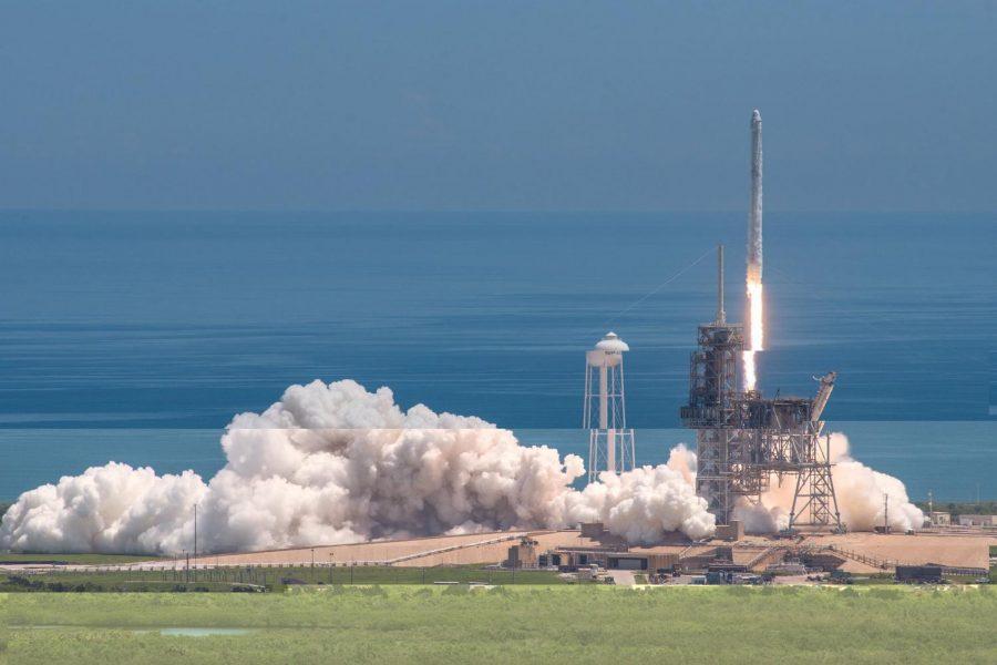 SpaceX test run semi-successful