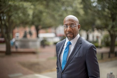 Reverend Raphael Warnock (Democrat) is projected to win the Georgia Senate.