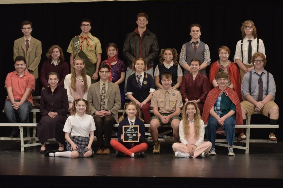 The full cast of the BPHS's production of