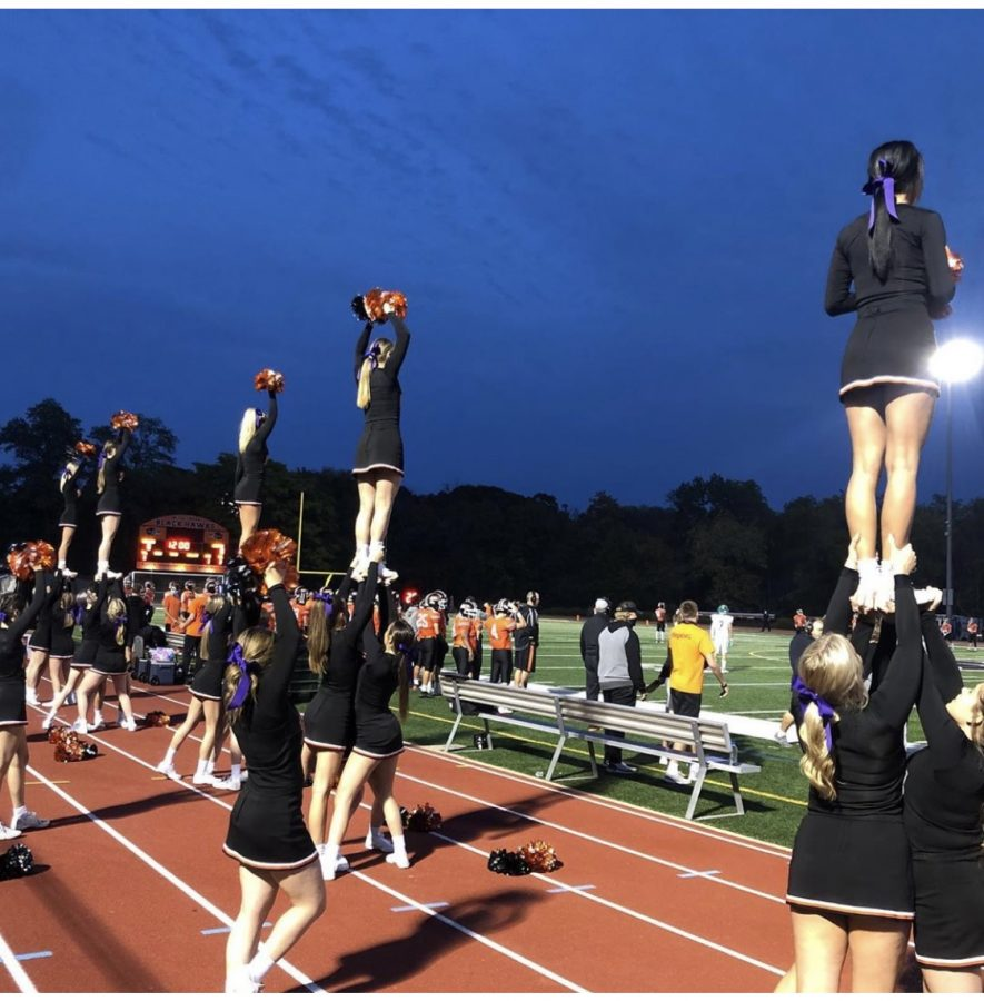 Enjoy the Friday night lights up close on the sidelines as a cheerleader.  Be sure to try out.