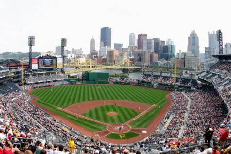 A shot of PNC Park on September 6, 2009. The Pirates defeated the Cardinals that day 6-5.