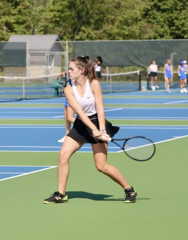 Mia Gorman is the 2021 WPIAL girls tennis champion. She defeated Kat Wang of Peters Township in the finals.
