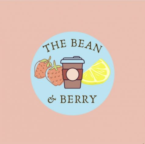 The new Bean and Berry logo designed by students Joie Sprandle, Abby Griffith, and Anastacia Antonucci.