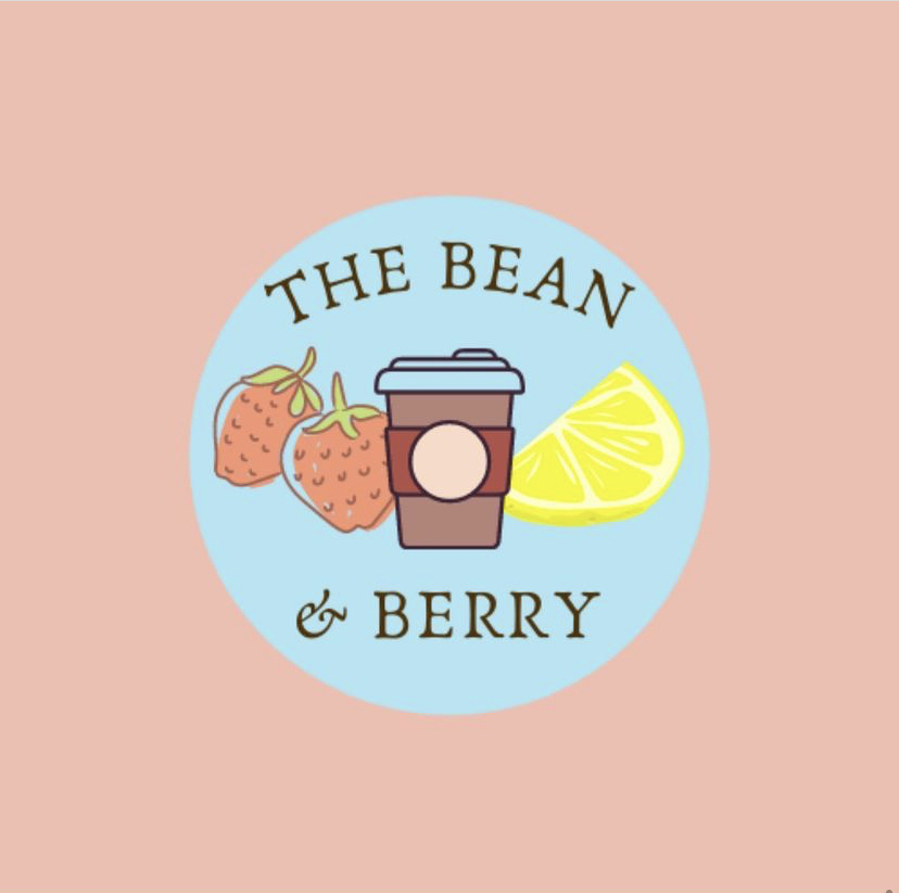The+new+Bean+and+Berry+logo+designed+by+students+Joie+Sprandle%2C+Abby+Griffith%2C+and+Anastacia+Antonucci.