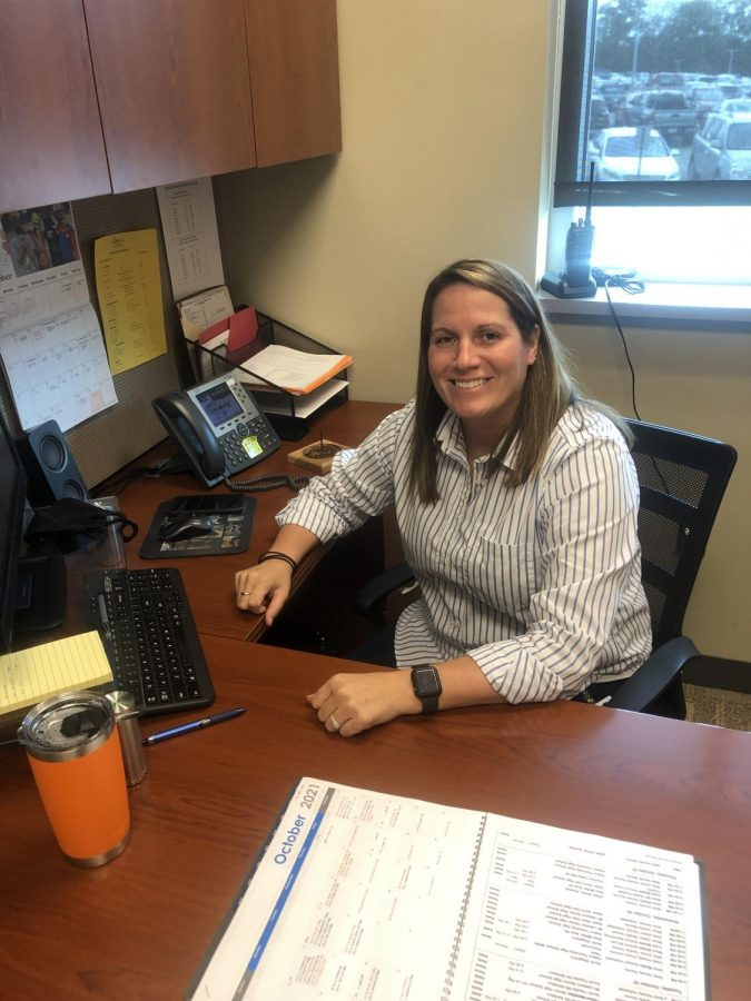 Get to know new assistant athletic director, Mrs. Grimm